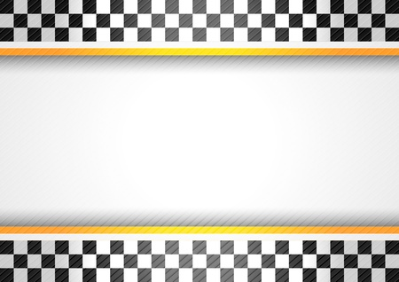 chequered ribbon: Racing Background Illustration
