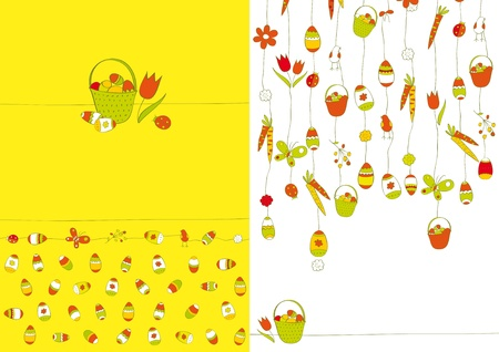 Easter background Stock Vector - 12802660