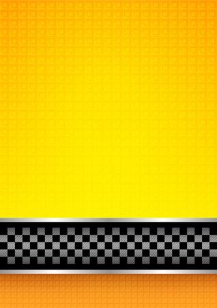taxi: Carreras de fondo blanco Vectores