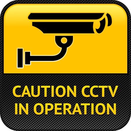 CCTV symbol, pictogram security camera Stock Vector - 12948960
