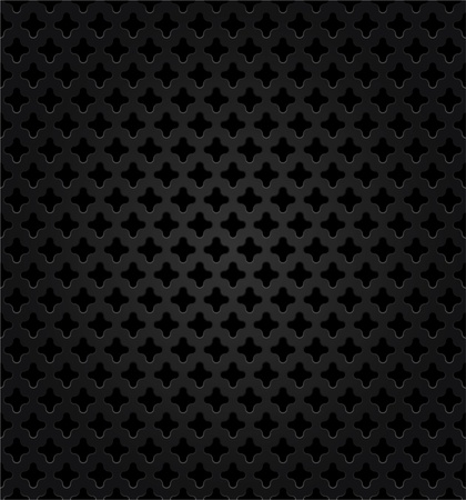 aperture grid: Abstract metal dark background