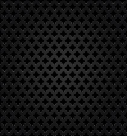 Abstract metal dark background Stock Vector - 13091182