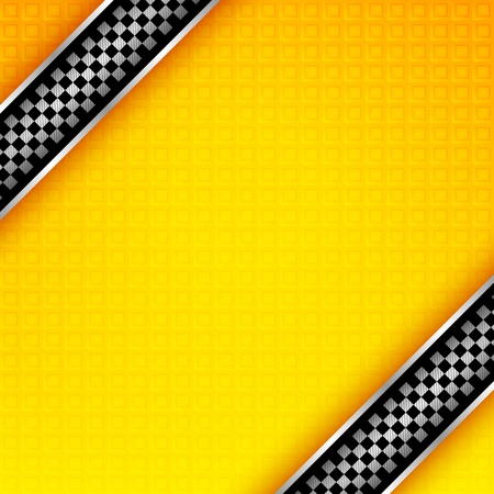 Racing ribbons background template Vector