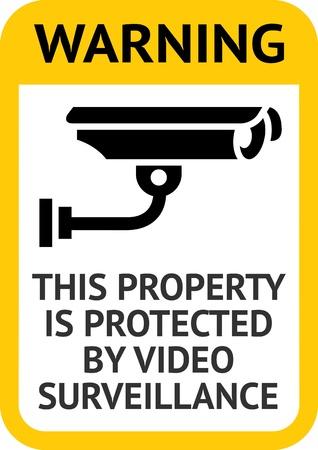 caution cctv: Notice Video Surveillance