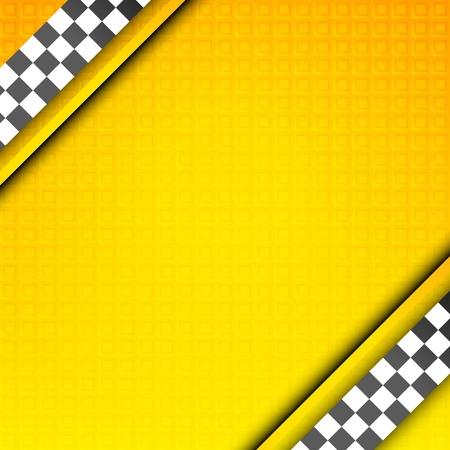 new york street: Mod�le Racing, toile de fond de taxi Illustration