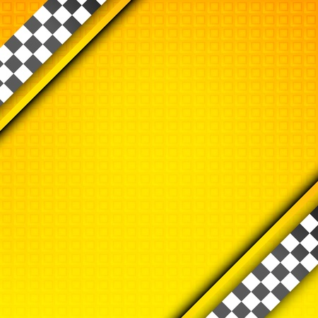 chequered ribbon: Racing template, taxi backdrop