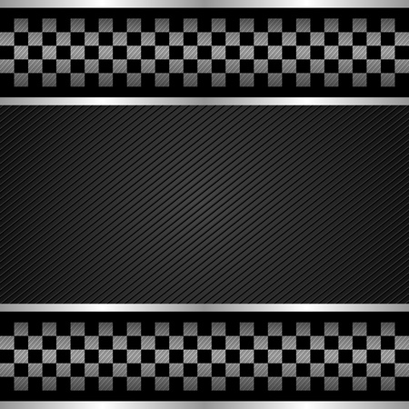 checker flag: Racing template