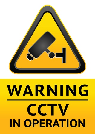 Symbol security camera Vector