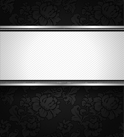 vintage weaving: Background black ornamental fabric texture