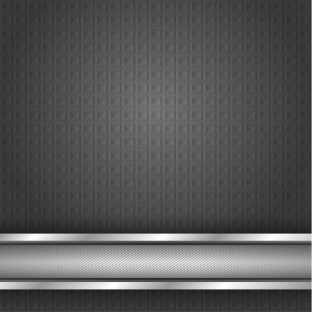 Metal surface, iron texture Vector