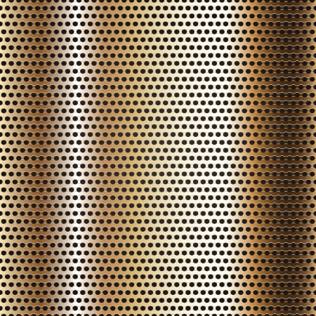 Seamless chrome metal surface, background