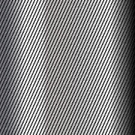 lamiera metallica: Ripetere linee sfondo grigio scuro Vettoriali