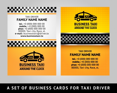 street name sign: Business card - CAB