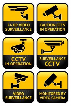 guardia de seguridad: C�maras de seguridad set signo