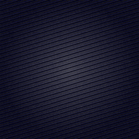structure corduroy: Striped fabric surface for dark blue background Illustration