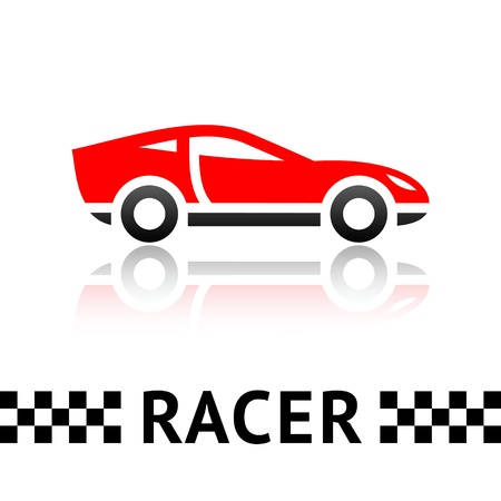 rally car: Race car symbol