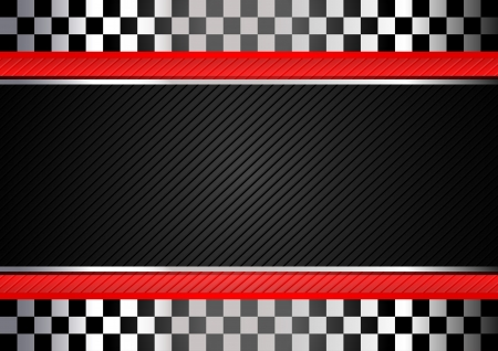 Racing black striped background Illustration