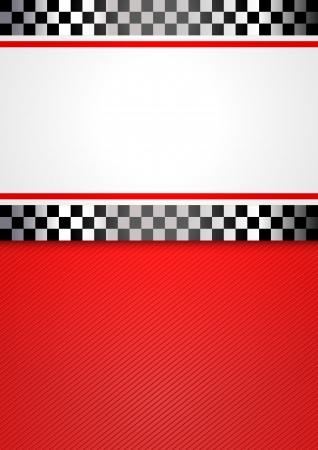 bandera carrera: Carrera de fondo blanco carrera Vectores