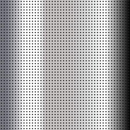 perforated sheet: Metallic perforated chromium sheet