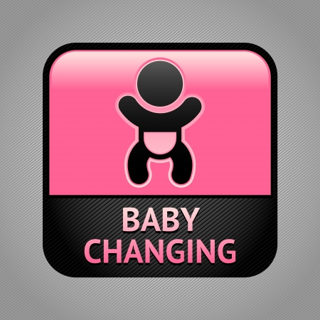 toilet symbol: Symbol baby changing facilities