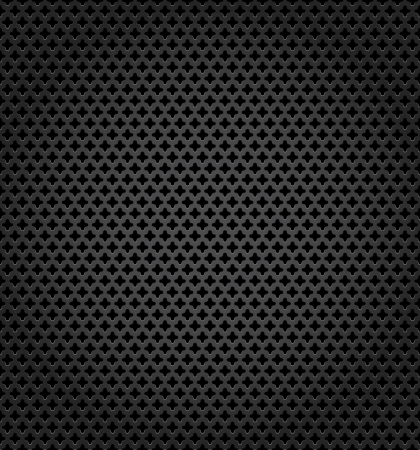 Metallic surface, gray dark background Vector