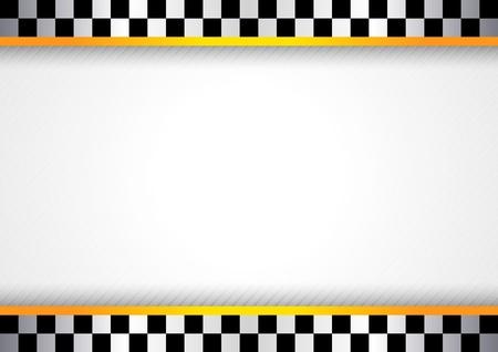 checker flag: Carrera de fondo