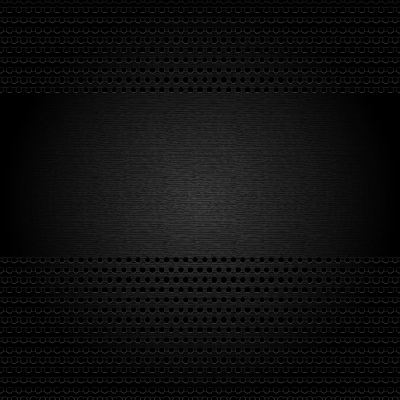mechanical radiator: Dark gray background perforated sheet.