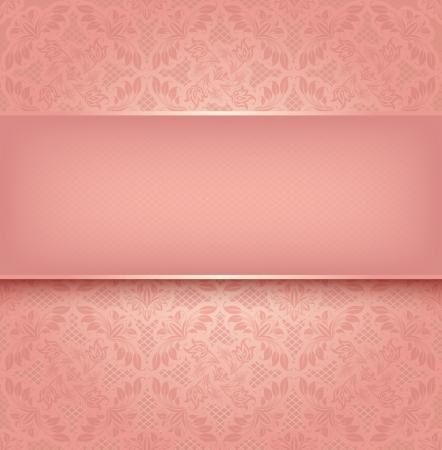 Encaje rosa