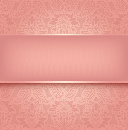 Decorative pink template - Vector illustration 10eps Stock Vector - 17311127