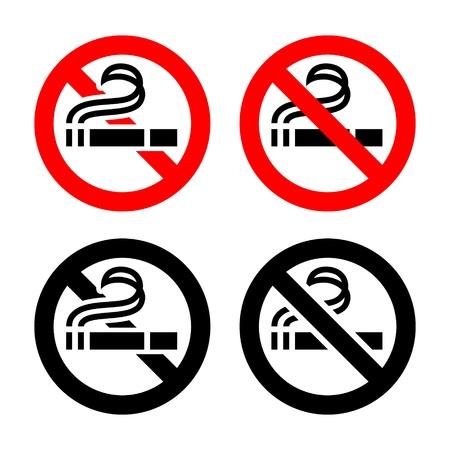 No smoking, symbols Stock Vector - 17311123