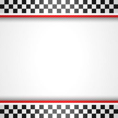 Racing vierkante achtergrond