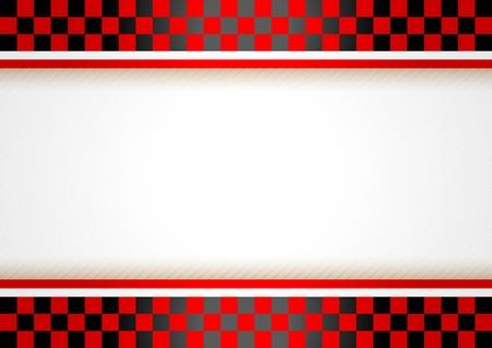 bandera carrera: Carrera horizontal de fondo Vectores
