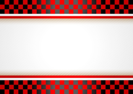 chequered: Race horizontal background Illustration