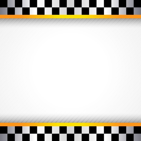 checker flag: Race background square Illustration