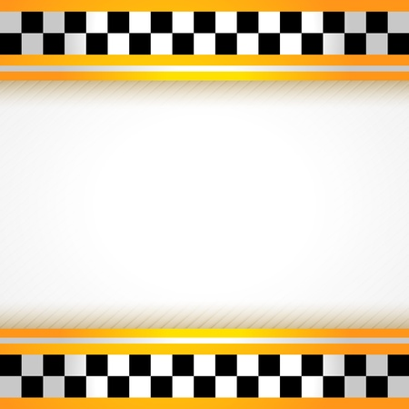Taxi background square Vector