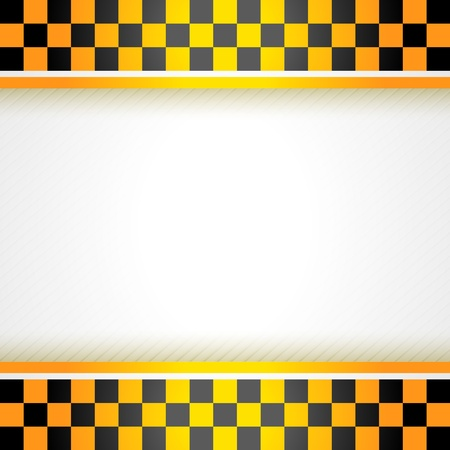 Cab background square Vector