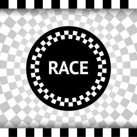 Race square background Stock Vector - 17852335