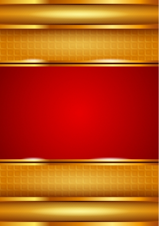 strip structure: Background template, red Illustration