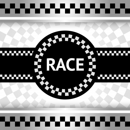 Race new backdrop Vector