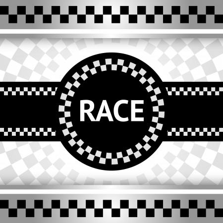 racing flag: Race new backdrop