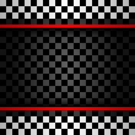Racing quadratischen Hintergrund