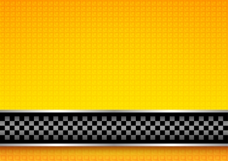 chequered ribbon: Racing template
