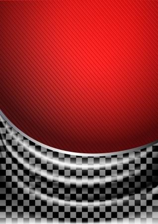Silk tissue in checkered