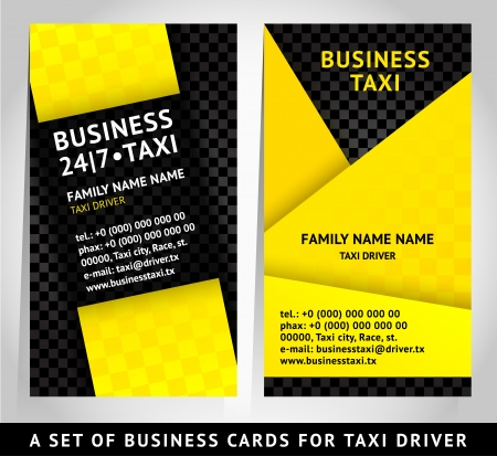 card design - business card template Banco de Imagens - 18548767