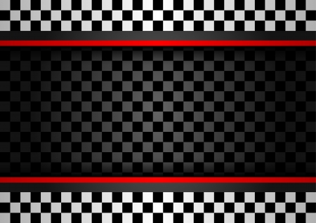 bandera carrera: Racing fondo horizontal Vectores