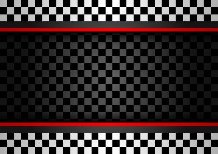 Racing horizontale achtergrond Stock Illustratie