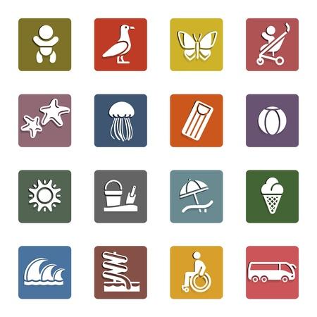 park icon: Vacation, Travel