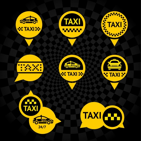 fare: Taxi - Emblems yellow