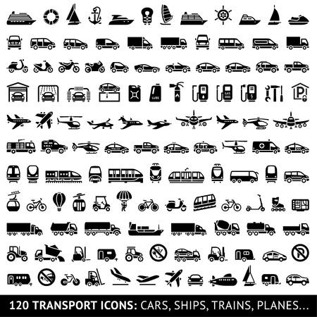 train icone: 120 ic�ne Transport