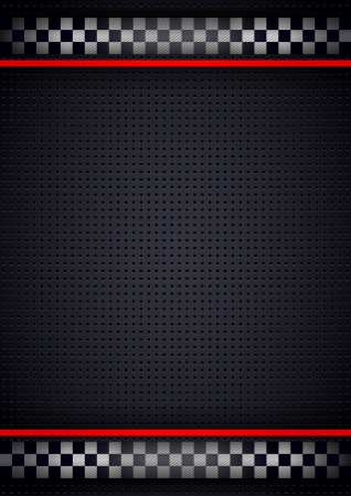 레이싱 배경 수직, 금속 천공 일러스트